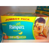 Cartons De Couches Pampers Taille 3