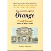 Une Ancienne Capitale, Orange de Duhamel, L�opold