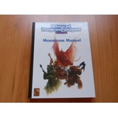 Advanced Dungeons & Dragons - Monstrous Manual