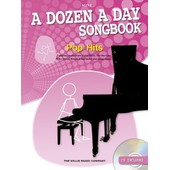 A Dozen A Day Songbook: Pop Hits - Mini + Cd
