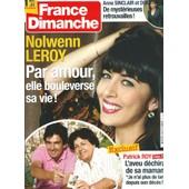 France Dimanche 0.03469 Nolwenn Leroy : Par Amour Elle Bouleverse Sa Vie ! Patrick Roy (Exclusif)