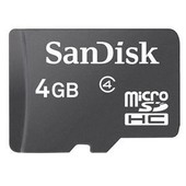 Carte M�moire Sandisk Micro Sd 4go Compatible Smartphones