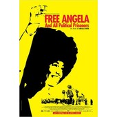 Free Angela (Free Angela & All Political Prisoners) - V�ritable Affiche De Cin�ma Pli�e - Format 120x160 Cm - Documentaire De Shola Lynch Avec Angela Davis, Eisa Davis - 2013