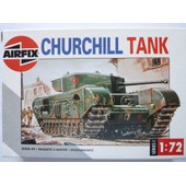 Maquette Char Churchill Mkvii Au 1/72