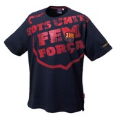 T-Shirt - Fc Barcelone - Collection Officielle - Fc Barcelona - Barca - Football Club Liga Espagne - Tee Shirt Blason Maillot