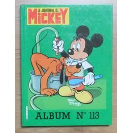 Album Le Journal De Mickey 113 Du N� 1694 � 1703