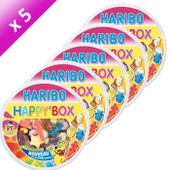 Happy Box Haribo 600 Gr. Par 5
