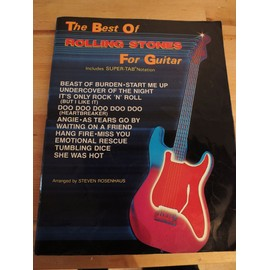 The Best Of Rolling Stones For Guitar