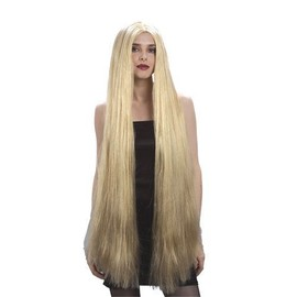 Perruque Longue Raide Blonde 1 M
