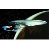 Star Trek Uss Enterprise Ncc-1701-D �chelle 1/1400