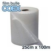 6 Rouleaux De Film Bulle D'air Coex 25cm X 100m