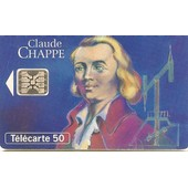 T�l�carte 50 Unit�s Claude Chappe