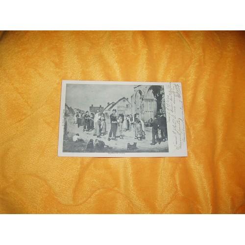 Carte postale ecrite de 1903 usagee bapteme en bresse d. duval phot. bourg 3 cachets 2 bourg en bresse gare 1 <strong>gap</strong> timbre 10c. rouge droits de lhomme.