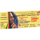 Ticket Unused Festival Hommage � Bob Marley