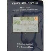 Catalogue 28�me Vente Sur Offres - Raux Octobre 1992 de Jean Emmanuel Raux
