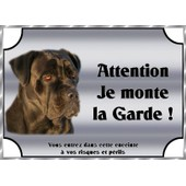Plaque De Garde En Metal