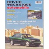 Revue Technique Automobile Opel Vectra N� 601