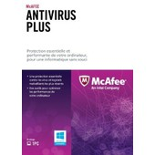 Mcafee Anti-Virus Plus - Licence D'abonnement ( 1 An ) - 1 Pc - Oem - Carte D'activation - Win - Fran�ais