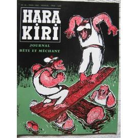 Hara Kiri N� 26 Du 01/03/1963
