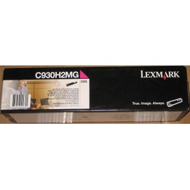 Genuine Lexmark C930h2mg C935dtn High Yield Magenta Toner Cartridge