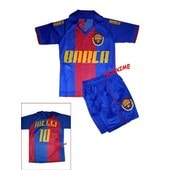 Maillot + Short Barcelone 6 Ans Messi