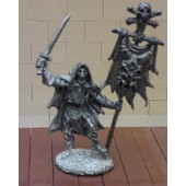 Figurine Squelette Reaper Dark Heaven Legends / Bob Ridolfi - 2137 Skeleton Standard Bearer