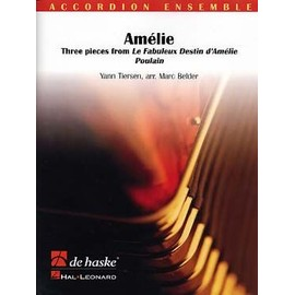 Tiersen - Amélie Poulain : 3 airs du film pour ensemble d'accordéons