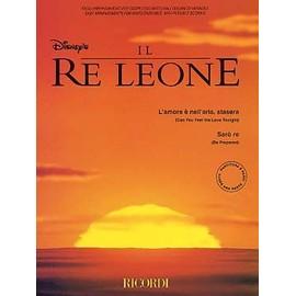 Le Roi Lion : 2 extraits pour 4 à 7 instruments et piano