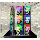Coque Iphone 4 4g 4s Iph04 050 001 018 Star Pop Art Marilyn Monroe Hard Case