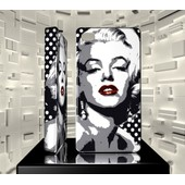 Coque Iphone 4 4g 4s Iph04 050 001 027 Star Pop Art Marilyn Monroe Hard Case