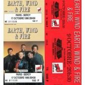 2 Tickets Unused De Earth Wind & Fire