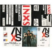 2 Tickets Unused De Inxs