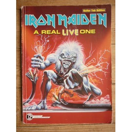 songbook Iron Maiden guitar tab edition