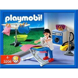 Playmobil 3206 - M�nag�re / Buanderie