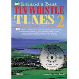 110 Ireland's Best Tin Whistle Tunes Vol. 2 + CD