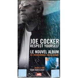 PLV + CD de joe cocker : respect yourself (2002)