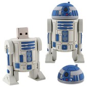 Cl� USB Style R2D2 Cartoon Robot Original Star Wars 8 Go
