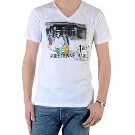 Tee Shirt Joe Retro Time Blanc