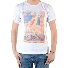 Tee Shirt Joe Retro Treet Blanc