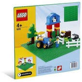 Lego 0626 - Construction Cr�ative : Plaque De Base Verte (25 X 25 Cm)