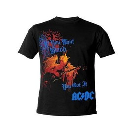 T-shirt Official merchandise AC/DC Want Blood Giant ACDC