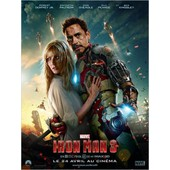 Iron Man 3/Trois - V�ritable Affiche De Cin�ma Pli�e -Format 120x160 Cm-De Shane Black Avec Robert Downey Jr., Gwyneth Paltrow, Don Cheadle, Ben Kingsley, Guy Pearce, James Badge Dale -2013