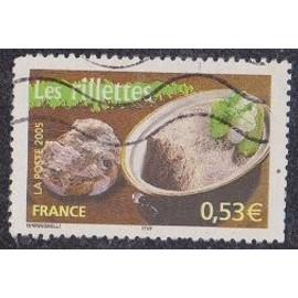 Timbre N°3773 Y&T 0,53 ¿ multicolore portraits de régions la France à vivre les rillettes