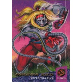 94 Fleer Ultra X-Men / Carte 61 Sur 150 / Omega Red. Version Am�ricaine