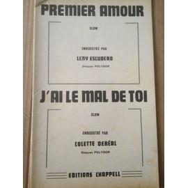 """SLOW """"Premier Amour"""" Leny Escudero - """"J'ai le mal de toi"""" Colette Dereal"""