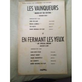 """ROCK/LES VAINQUEURS """"March of the Victors"""" & SLOW/ EN FERMANT LES YEUX """" My special Dreamé"""