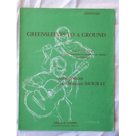 Greensleeves to a ground -  flûte à bec et guitare