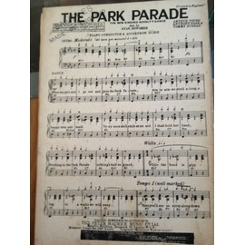 """THE PARK PARADE """"The New Singing Novelty Dance"""""""
