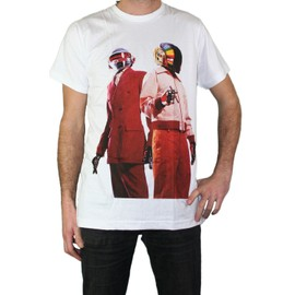 T-shirt Daft Punk Electro Techno Lectro Justice French Touch