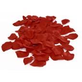 Sachet De 144 P�tales De Roses, Polyester Couleur Blanc , Rouge/Bordeaux , Rose/Fuschia , Ecru/Ivoire ,